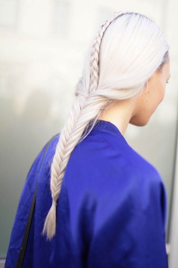 braided part that turns into a fishtail