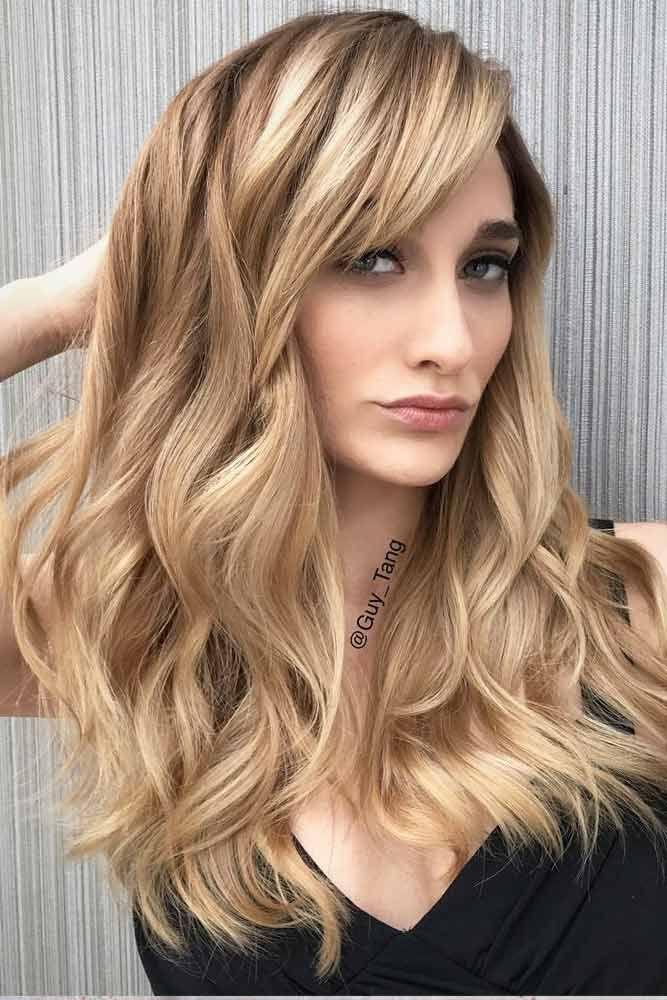 A Great Variety Of Blonde Hair Colors #blondehair #blondecolor #longhair #hairst...