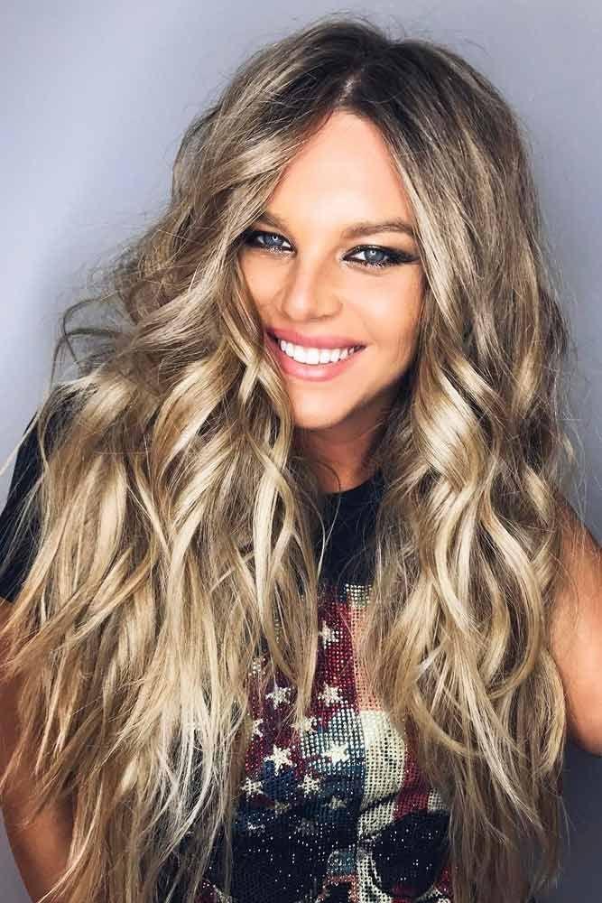 A Vampy Dark Blonde Hair #blondehair #blondecolor #longhair #darkblondehair #blu...