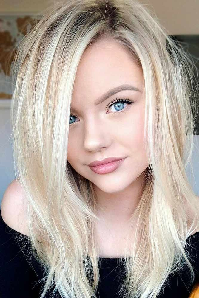 An Angelic Light Blonde Hair Color #blondehair #blondecolor #longhair  #hairstyle.
