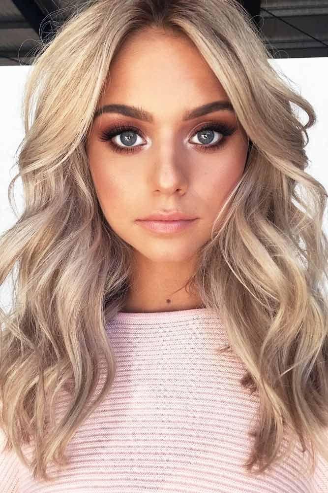 Blonde Hair Color Depends On You #blondehair #blondecolor #longhair #hairstyles ...