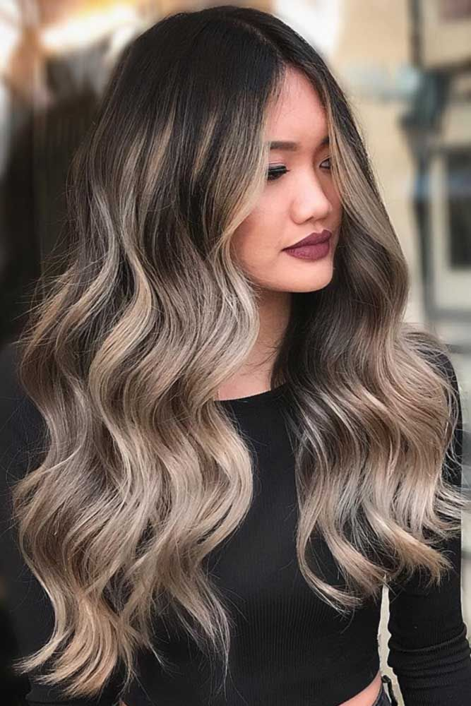 Brunette to Platinym Blonde Ombre� If you have completely fallen in love with ...