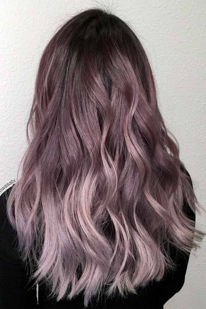 Hair Color 2017 2018 Dark Purple Hair Is Quite Bold And That Is