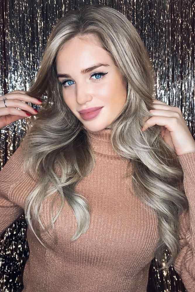 Interesting Ash Blonde Hair Color #blondehair #blondecolor #ashblondehair #longh...