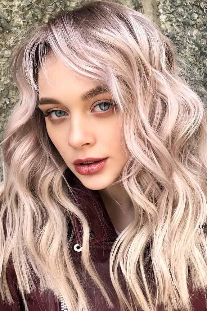 Hair Color 2017 2018 Trendy Peach Blonde Hair Blondehair