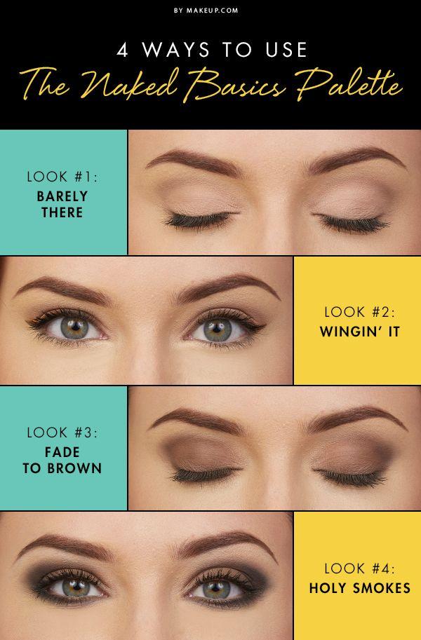 4 Ways to Use the Naked Basics Palette via Makeup.com