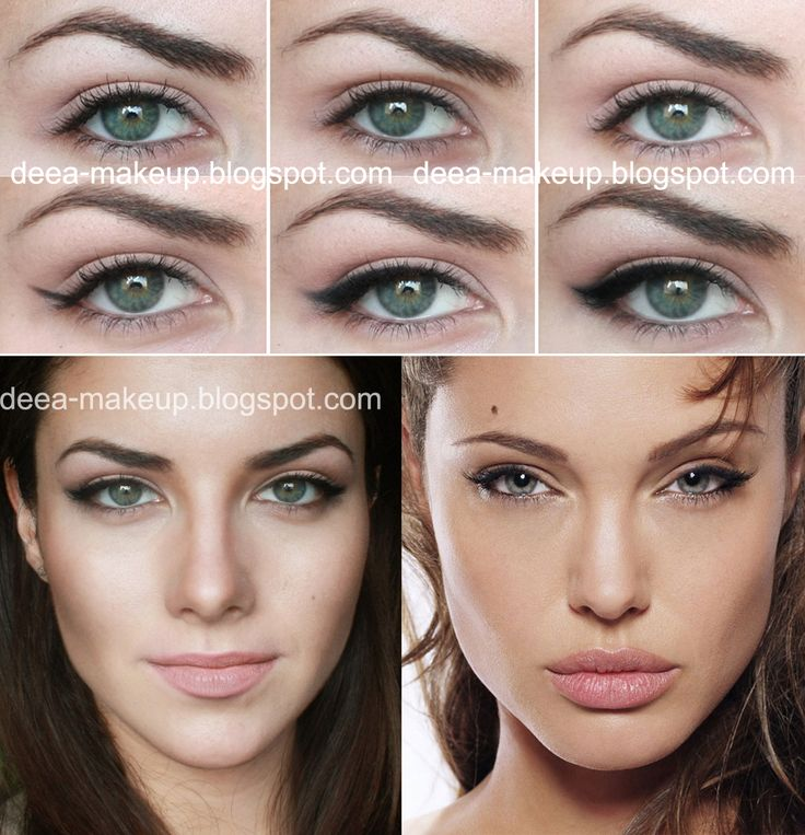 Angelina Jolie Inspired Make-up  deea-makeup.blogs...