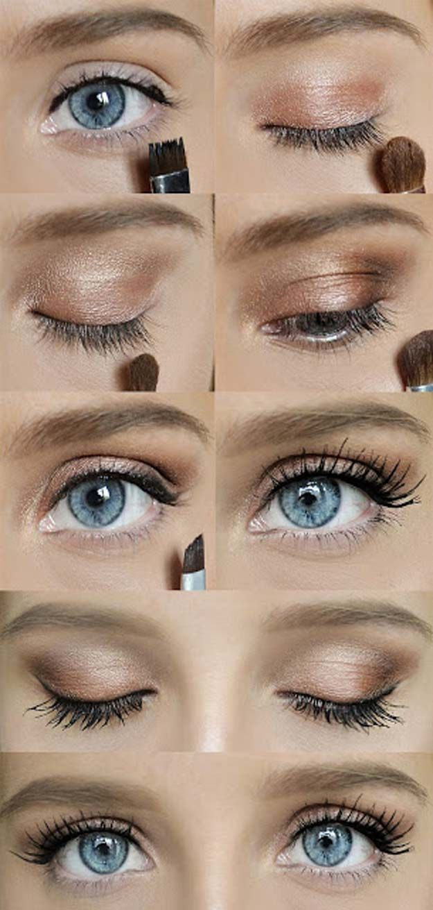 Best Makeup Tutorials for Teens -Gorgeous Lashes - Easy Makeup Ideas for Beginne...