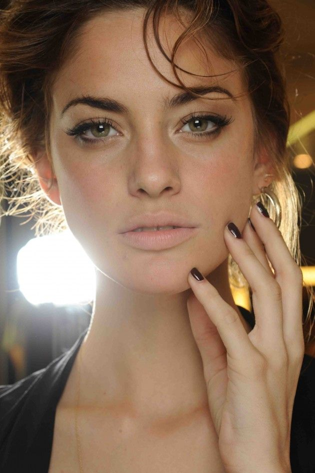 Dolce & Gabbana- naturally stunning. the brows, the lashes, flawless clean skin,...
