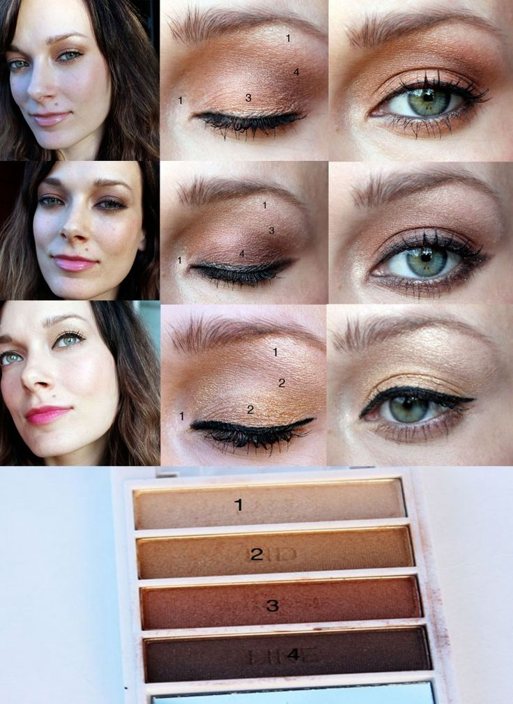 E.L.F Golden Goddess $2.00 Eyeshadow Palette and 3 Looks!// I have this palette ...