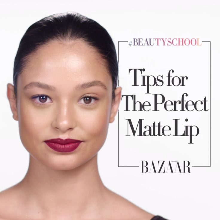 Get a gorgeous matte pout in 6 simple steps