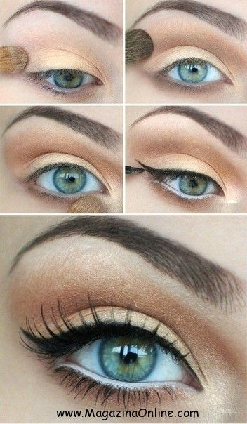 Hey Fashionable s with blue eyes, this post is for you – 20 incredible makeup ...