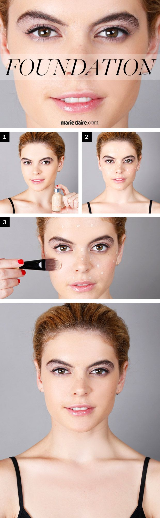 How to Apply Foundation - Right Way to Apply Foundation - Marie Claire