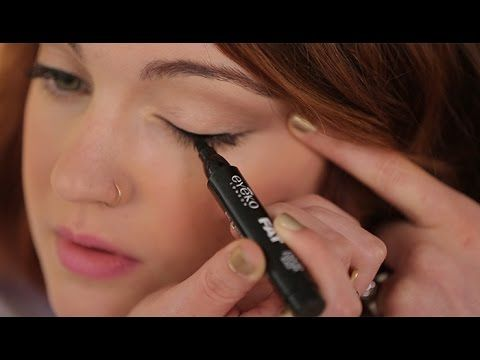 How to Apply Liquid Eyeliner for Beginners
