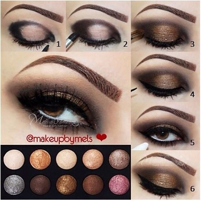 How-to Eye Makeup For Brown Eyes