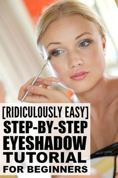 If you love makeup, but have never been able to figure out how to apply eyeshado...