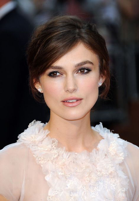 Keira Knightley on the red carpet for Anna Karenina  (makeup by me)