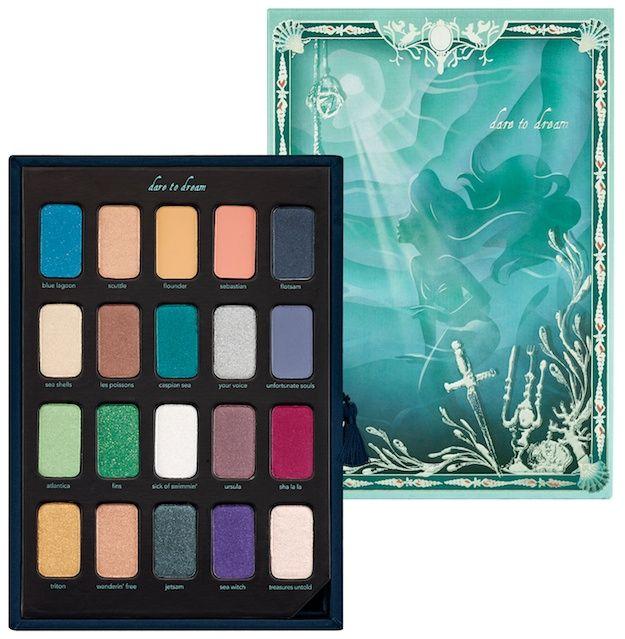 La paleta de sombra de La Sirenita... Sephora Disney Ariel Storylook Palette Vol...