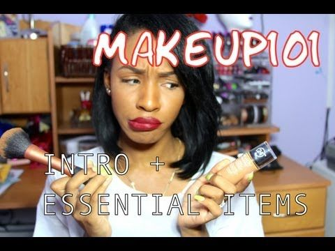 Makeup for Beginners 101: Intro and Essential Items - YouTube