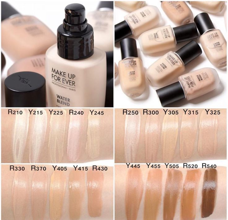 SWATCHES of the NEW Makeup Forever Water Blend face and body foundation! Lightwe...