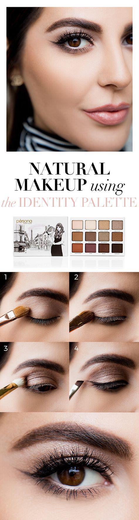 Sona Gasparian's Natural Eye Makeup Tutorial using the Pérsona Cosmetics Id...