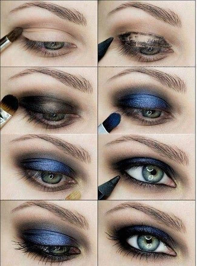 Stylish smokey eye makeup tutorials you must try! Get makeup from eyeshadow to m...