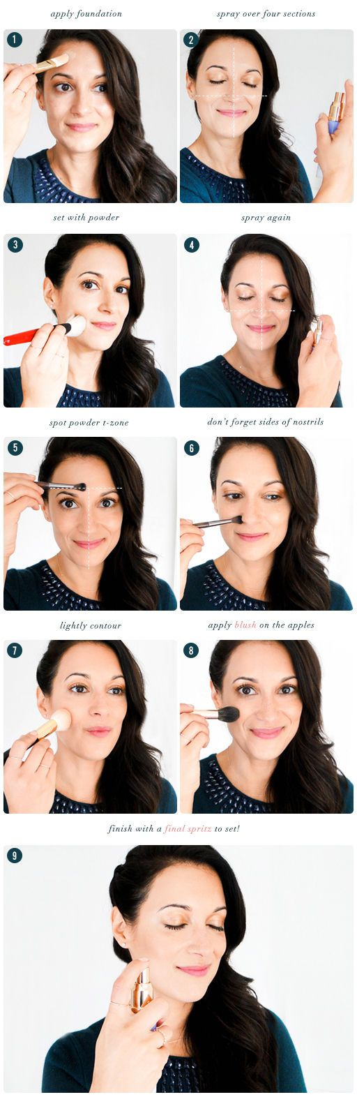The Beauty Department: Your Daily Dose of Pretty. -   HOW TO CREATE PERFECT-LOOK...