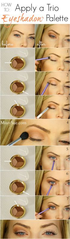 The Step-by-Step Guide to put on eyeshadow