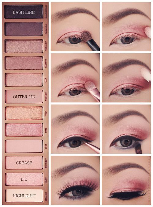 To look gorgeous as well as sweet, you can wear a pink eye makeup. Today the pos...