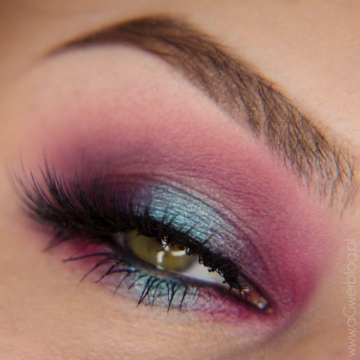 Turquoise purple smoky Makeup Tutorial - Makeup Geek