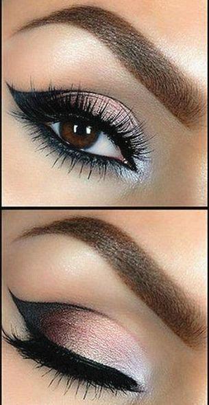 Tutorial: Beautiful Smokey Eye Makeup - Want to do it yourself? Click on the ima...