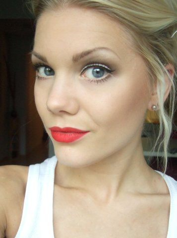 Wedding Makeup. I love the eyes for you. So classic and would be perfect to make...