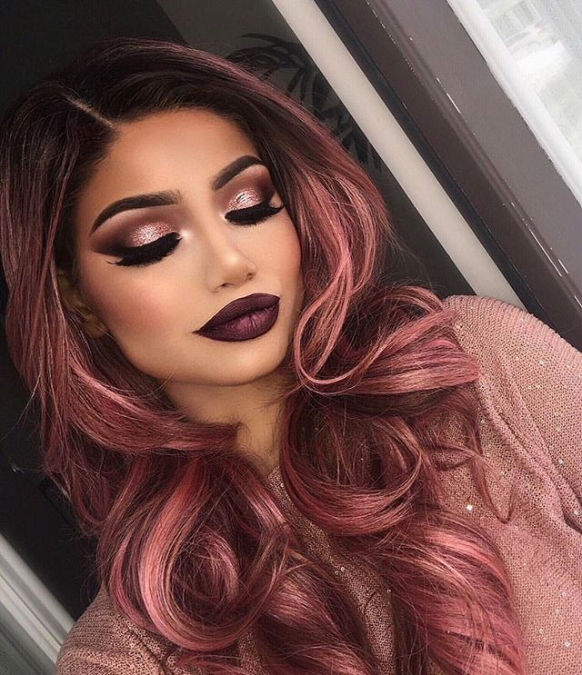 You can't get more flawless then this. Hair and makeup are so  Alina Gea used ou...