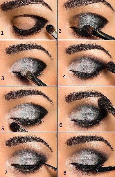 how to apply makeup step by step for beginners - Google Search - Looking for Hai...