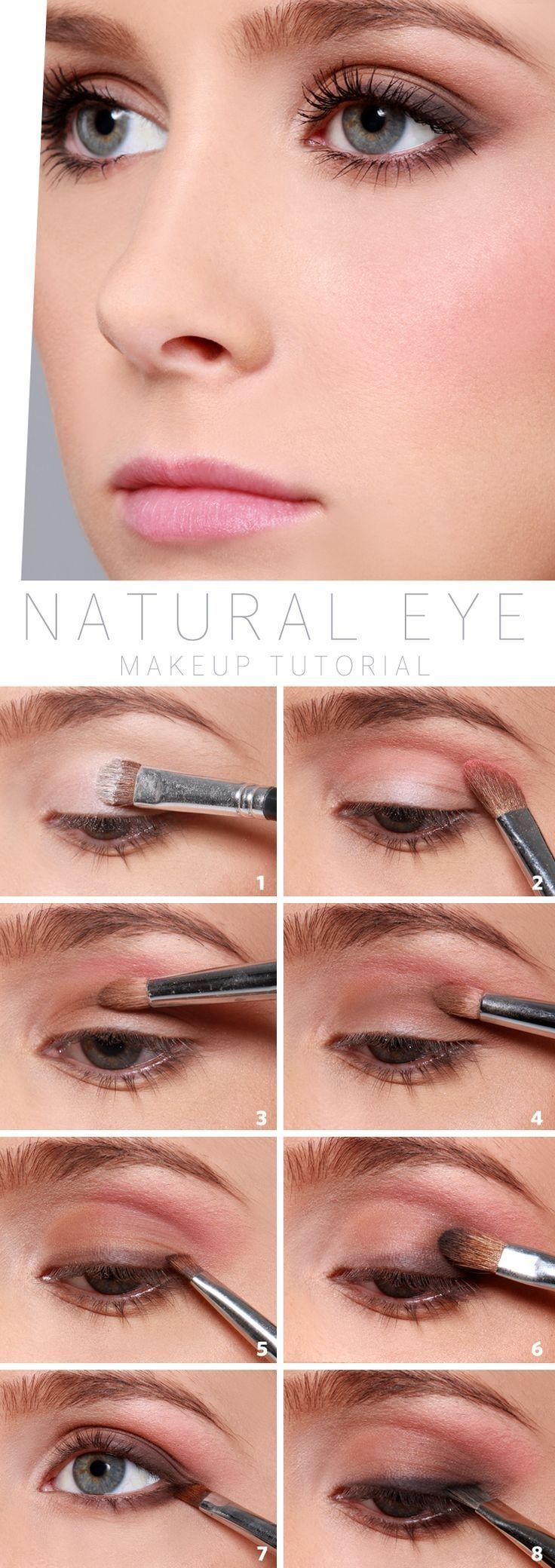 How to Do Natural Eyes | Work Makeup Tips by Makeup Tutorials at | Makeup Tutori...