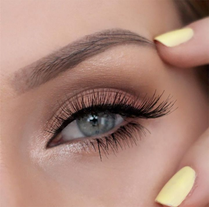 love this natural eye makeup with inner shimmer- perfect wedding makeup! ~  we ...