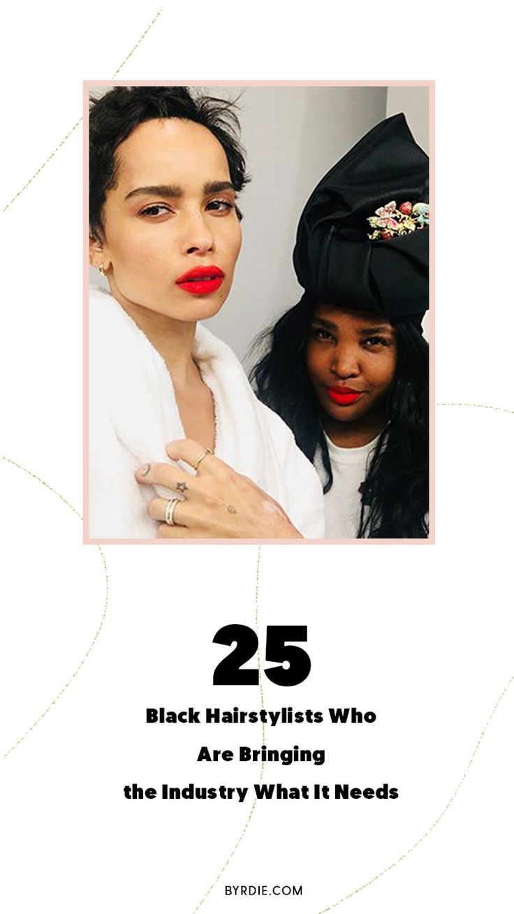 25 of the best black celebrity hairstylists