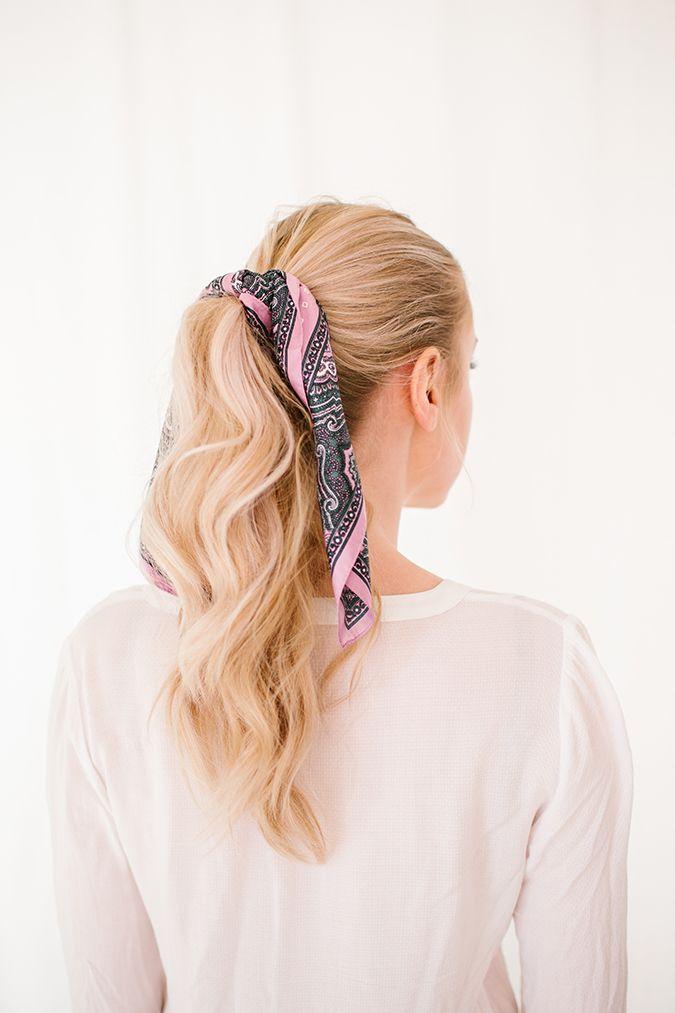5 ways to wear a scarf this season