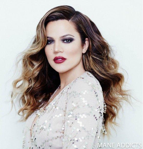 Big hair, don't care! // Khloe Kardashian for Mane Addicts