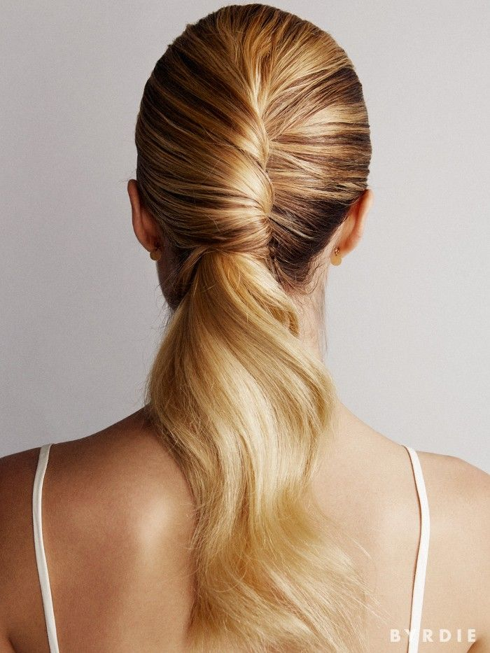 Chic twisted pony