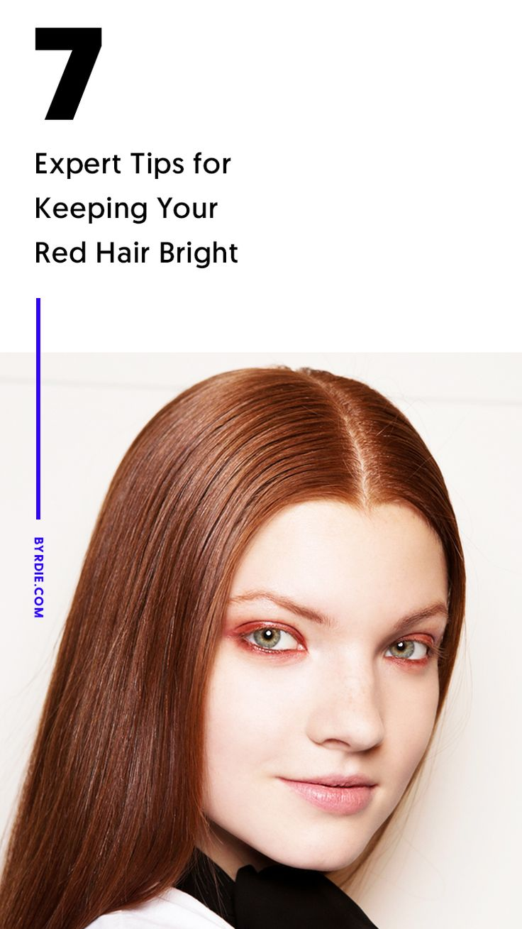 How to take care of red hair