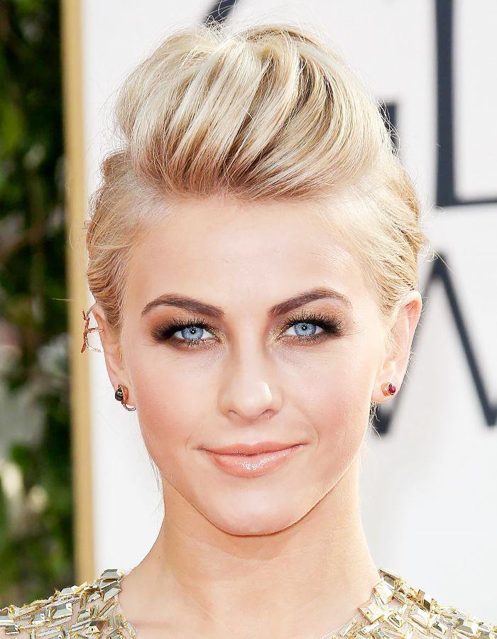 Julianne Hough looks stunning with a fauxhawk