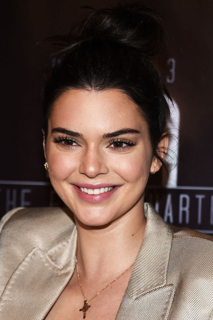 Kendall Jenner's messy bun