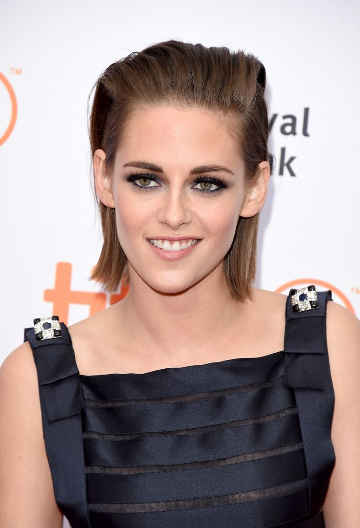 Leave it to Kristen Stewart make slicked-back hair look ridiculously cool