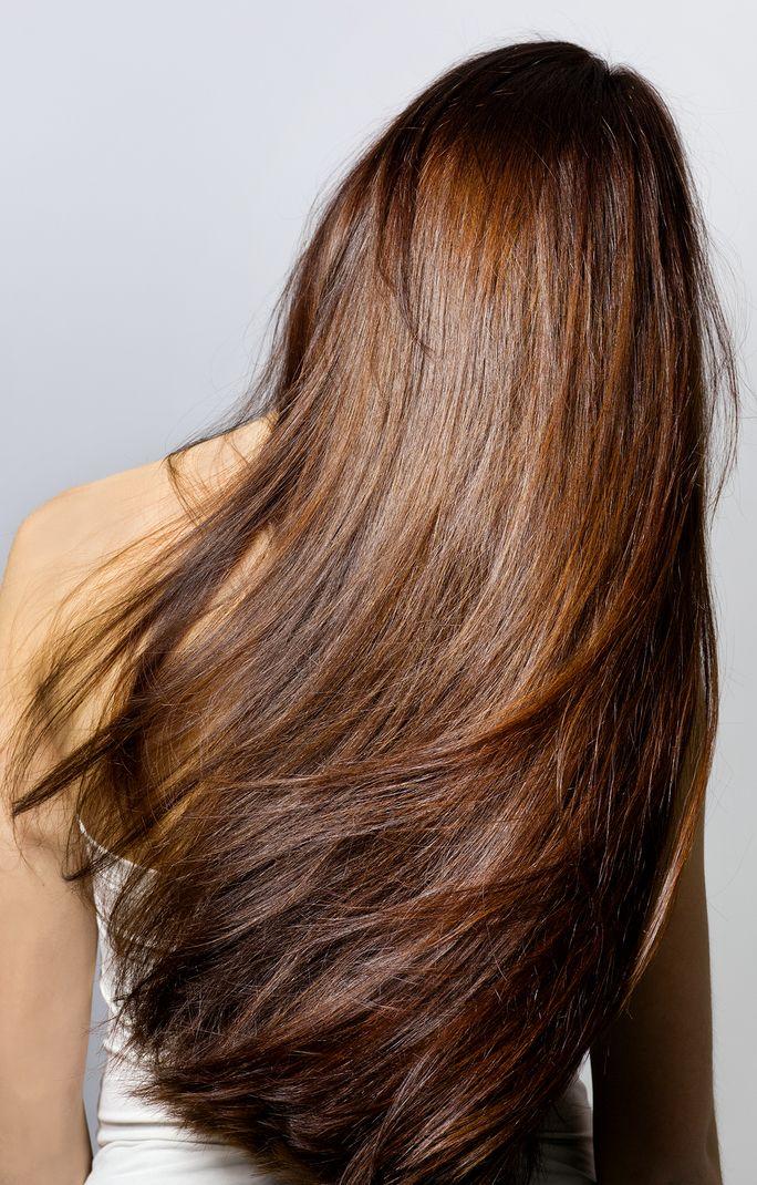 Long, silky hair