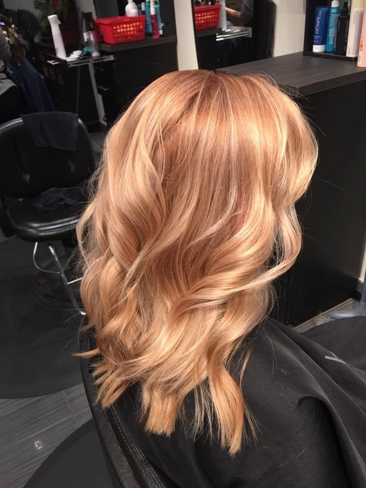 Rose gold hair goals