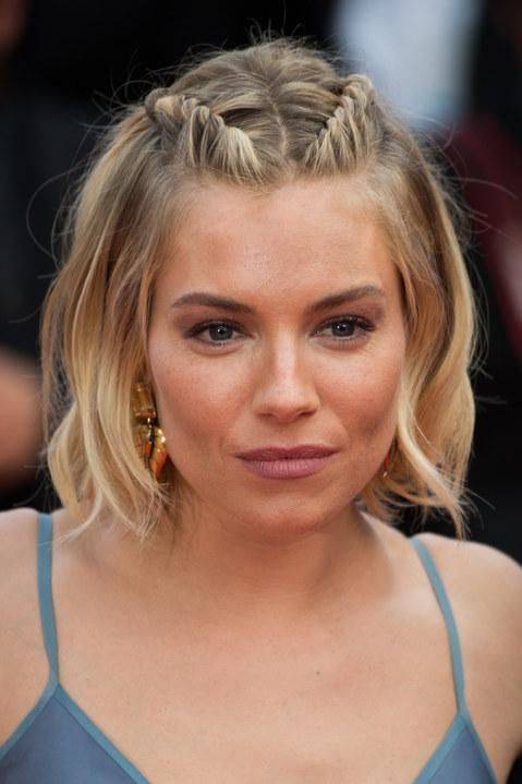 Sienna Miller's twisted braids