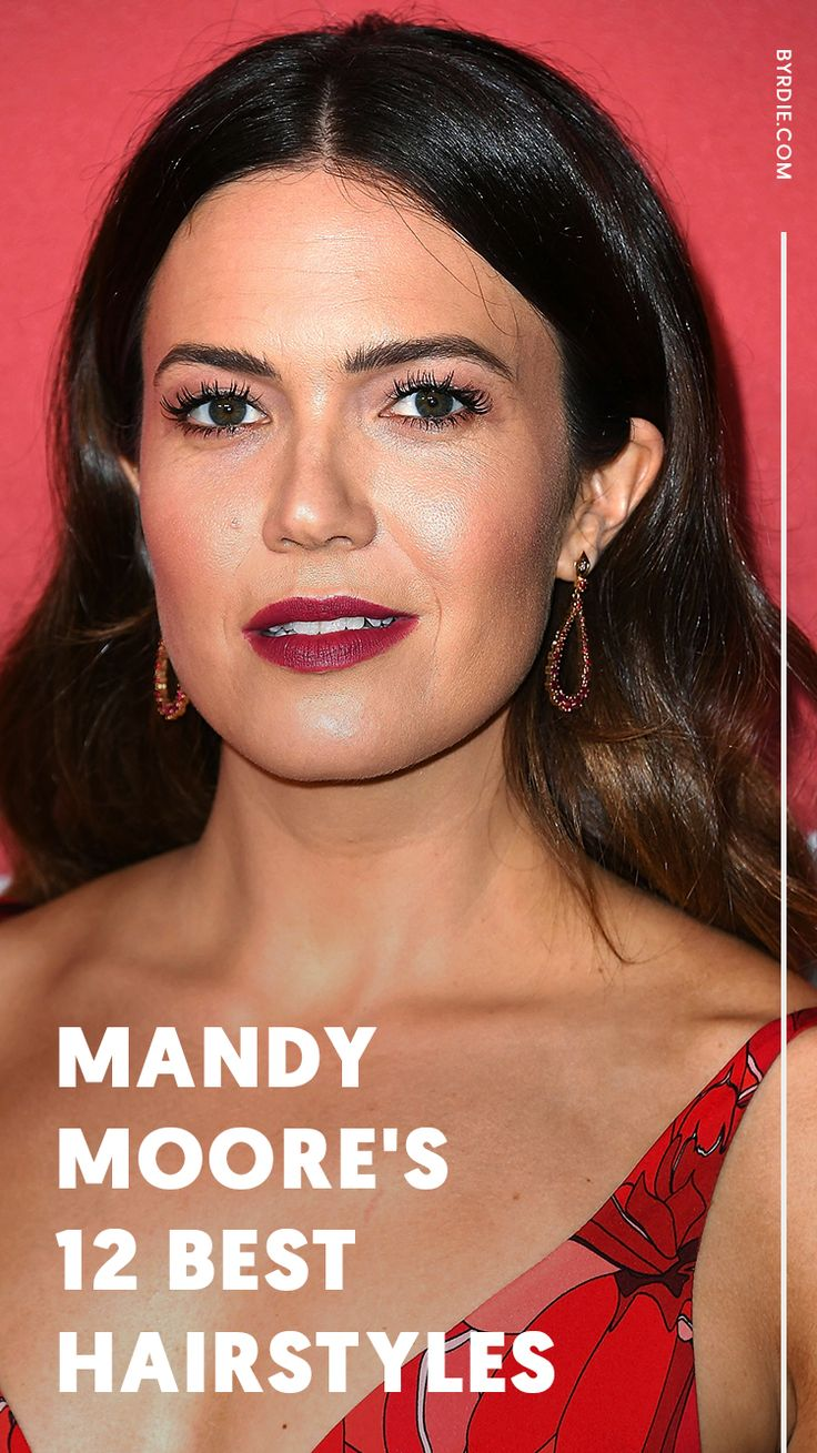 The 12 best hairstyles Mandy Moore has ever worn
