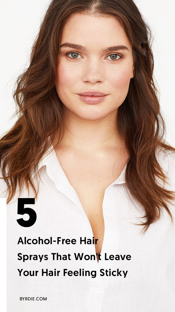 The best alcohol-free hairsprays