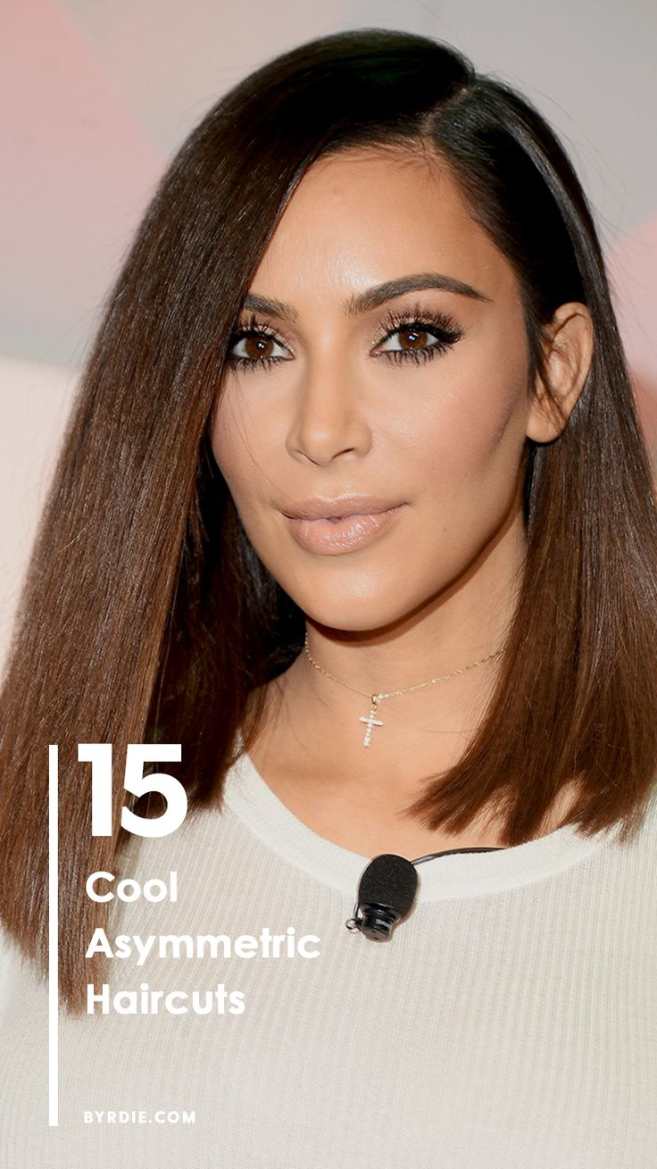 The best asymmetrical haircuts